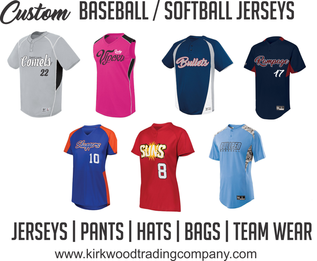 custom baseball softball jerseys