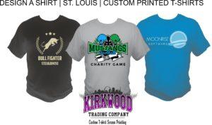 Design A Shirt St. Louis custom t-shirt screen printing