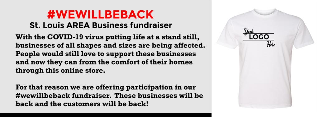 St louis covid 19 t-shirt business fundraiser
