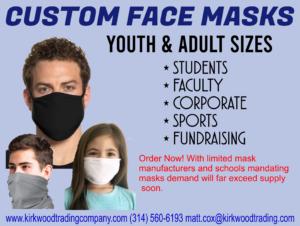 custom face masks for schools