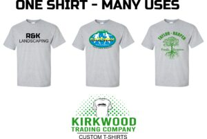 Kirkwood Trading Company St. Louis t-shirt screen printing